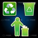 Recycling Themed Icons 3 Pack